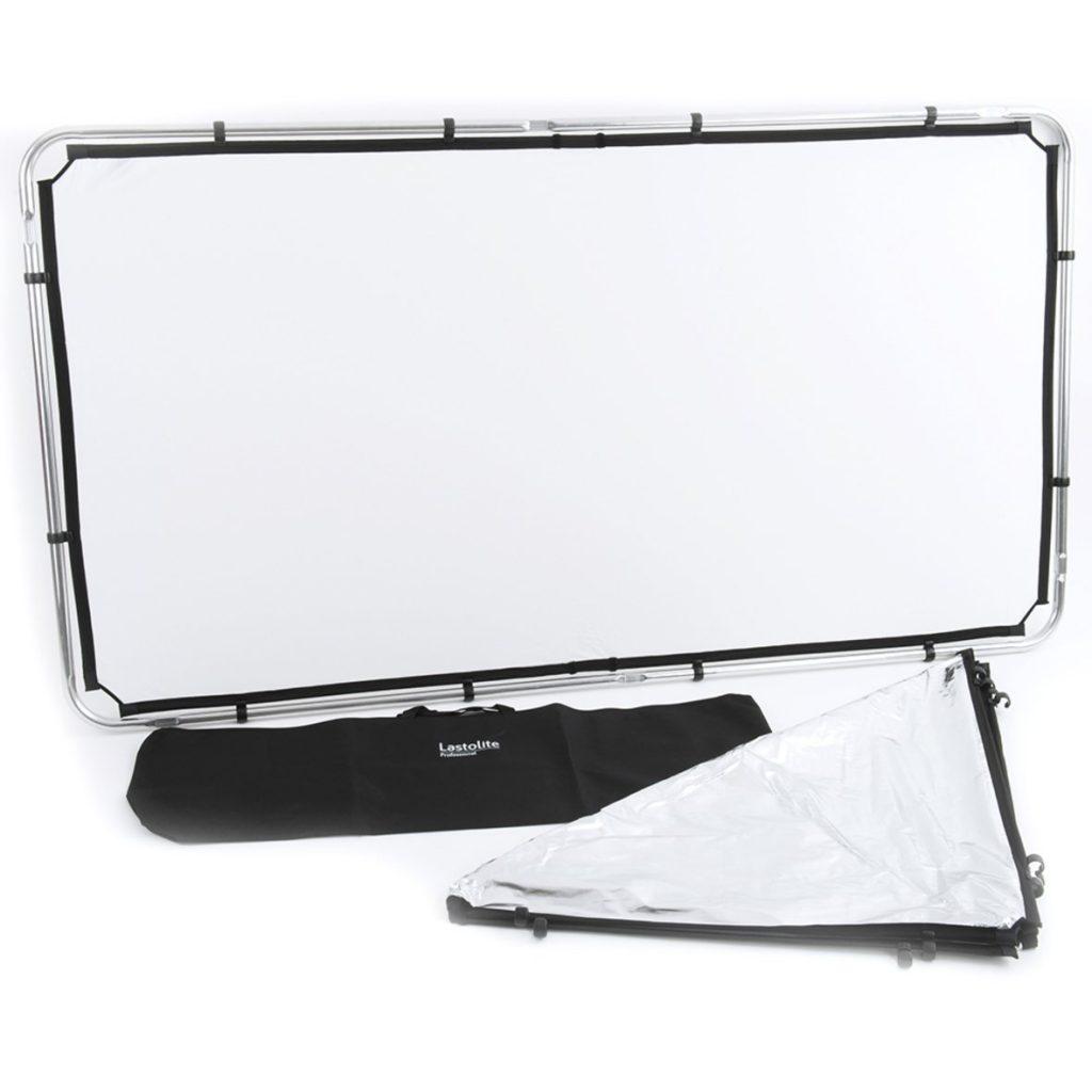 Reflector Lastolite Skilite 2×1 Telas blanco/plata, WD 1 stop