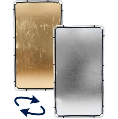 Tela oro/plata para Lastolite Skylite 2×1