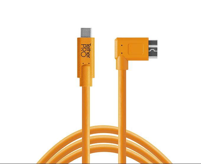 TetherPro USB-C a 3.0 Micro-B ángulo recto